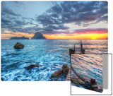 Distant Rocks Off Ibiza Metal Print by Trey Ratcliff