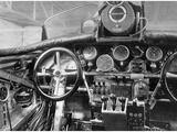 View of the Cockpit of a Junkers G-23 Aircraft, 1926 Metal Print by  Scherl