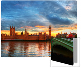 Approaching London Metal Print by Trey Ratcliff