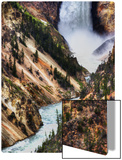 The Falls of Yellowstone Metal Print by Trey Ratcliff
