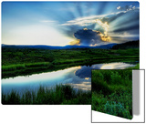 The Atomic Explosion and Mushroom Fallout at Sunset Metal Print by Trey Ratcliff