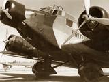 Junkers Ju 52 of the British Airways, 1937 Metal Print by  Scherl