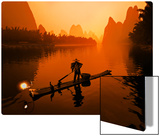 The Li River (or Morning Fisherman) Metal Print by Trey Ratcliff