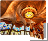 The Gaudi Cheesecake Factory Metal Print by Trey Ratcliff