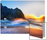 The Edge of Big Sur Metal Print by Trey Ratcliff
