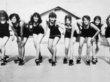 Participants in a Beauty Pageant in San Diego, 1926 Metal Print by  Scherl