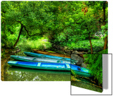 Dragon Boats of Commoners on a Lonely Stream near Hangzhou Metal Print by Trey Ratcliff