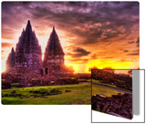 The Lost Hindu Temple in the Jungle Mist Metal Print by Trey Ratcliff