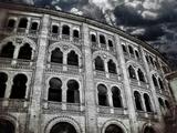 Plaza de Toros de Las Ventas Kunst auf Metall von Andrea Costantini