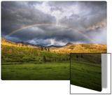 The Rainbow After the Storm Kunst auf Metall von Trey Ratcliff