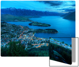 Queenstown From Above Metal Print by Trey Ratcliff