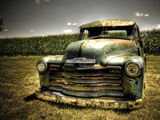Chevy Truck Metal Print by Stephen Arens