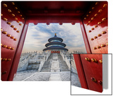Gateway to the Temple of Heaven Metal Print by Trey Ratcliff