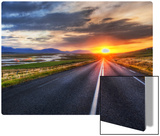 The Long Road Home Metal Print by Trey Ratcliff