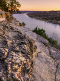 View from Mount Bonnell at Sunset Metal Print by Vincent James