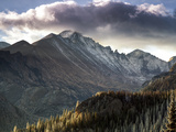 Longs Peak in Rocky Mountain National Park Near Estes Park, Colorado. Metal Print by Ryan Wright