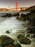 Baker Beach and the Golden Gate Bridge Metal Print by Vincent James