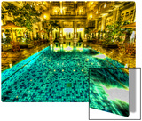 The pool that taunted me in Jogjakarta Metal Print by Trey Ratcliff