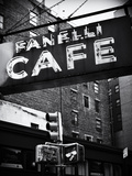 Advertising - Fanelli Cafe - Soho - Mahnattan - New York - United States Metal Print by Philippe Hugonnard