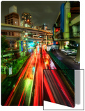 Zipping Through Tokyo Metal Print by Trey Ratcliff