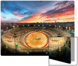 The Gladiator Arena at Sunset Metal Print by Trey Ratcliff