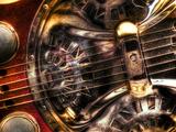 Resophonic Kunst på metal af Stephen Arens