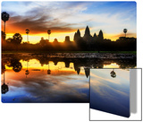 Sunrise Discovery of Angkor Wat Metal Print by Trey Ratcliff