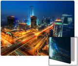 Bustling Beijing Kunst auf Metall von Trey Ratcliff