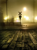 Foggy Night Metal Print by Jody Miller