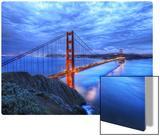 The Golden Gate Bridge at Dusk Metal Print by Trey Ratcliff