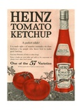 Heinz, Magazine Advertisement, USA, 1910 Metal Print