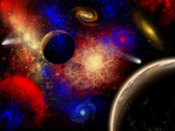 Stocktrek Images - The Cosmos Is a Place of Outstanding Natural Beauty and Wonder - Poster
