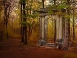 Ruins Portal Metal Print by Irene Suchocki