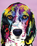 4 Beagle Posters by Dean Russo