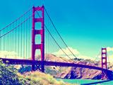 Landscape - Golden Gate Bridge - San Francisco - California - United States Metal Print by Philippe Hugonnard