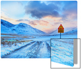 Don't Worry Mom – The Roads in Iceland Aren't That Bad Metal Print by Trey Ratcliff