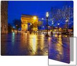 Le Arc de Triumph from the Champs-Élysées Metal Print by Trey Ratcliff