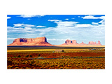 Landscape - Monument Valley - Utah - United States Metal Print by Philippe Hugonnard