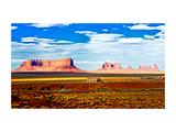 Landscape - Monument Valley - Utah - United States Metal Print by Philippe Hugonnard