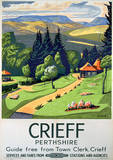 Crieff Vintage Style Travel Poster Masterprint