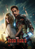 Iron Man 3 (Couple) Movie Poster Masterprint