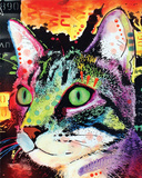 Curiosity Cat Posters van Dean Russo