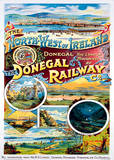 Donegal Railway Vintage Style Travel Poster Masterprint