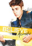 Justin Bieber (Acoustic) Music Poster Masterprint