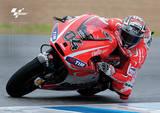 Moto GP (Dovizioso) Motorcycle Sports Poster Masterprint