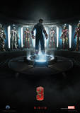 Iron Man 3 (Teaser) Movie Poster Masterprint