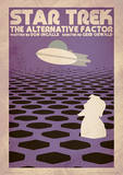 Star Trek - The Alternative Factor Vintage Style Television Poster Masterprint