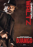 Django Unchained - Christoph Waltz Movie Poster Masterprint