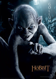 The Hobbit - Gollum Portrait Movie Poster Masterprint