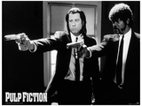 Pulp Fiction (Guns) Movie Poster Print Stampa master